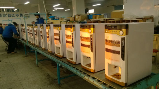 How to Operate Coffee Vendor Machine for Phlippine Market F303V