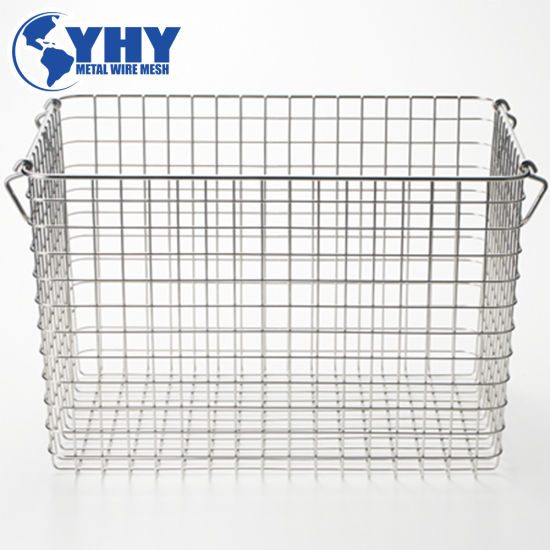Stainless Steel Mesh Basket for Surgical Instrument Tray