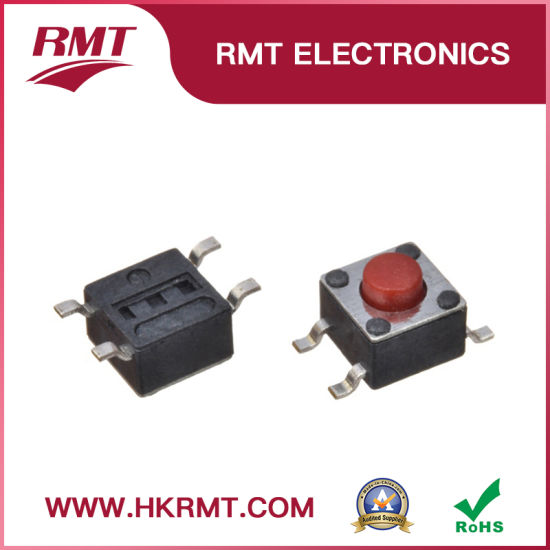 China Push Switch Tact Switch Tactile Switch (TS-1109S-R) for PCB