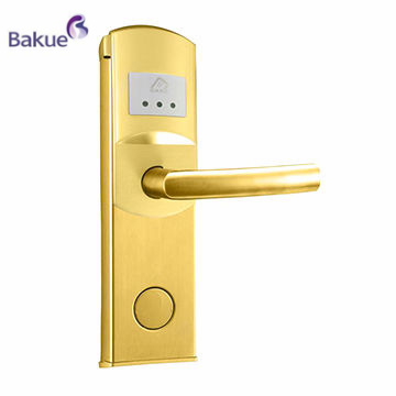 High Quality Zinc-Alloy Electronic Mortise Cylinder Hotel Door Lock