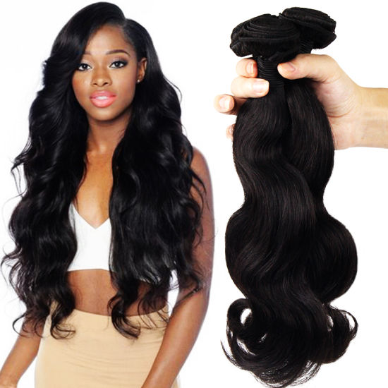 Morein 10A Body Wave Remy Hair Extension Virgin Brazilian Weave Human Hair