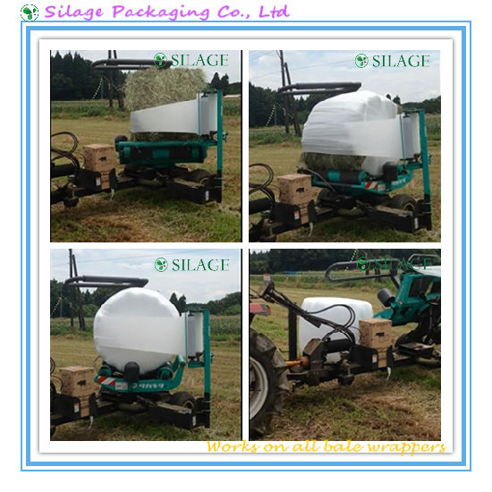 High Quality White Silage Wrapping Film for Japan pictures & photos