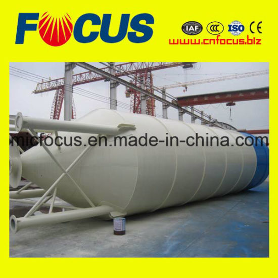 Good Quality 100tons Bolted Cement Silo for Concrete Batching Plant Manufacturer pictures & photos