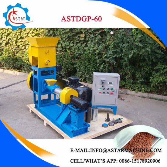 China Perfect Quality Floating Fish Feed Extruder pictures & photos