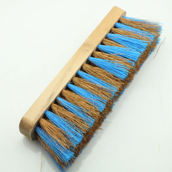 Double Color Bristle Floor Cleaning Brushes Mth2106 pictures & photos