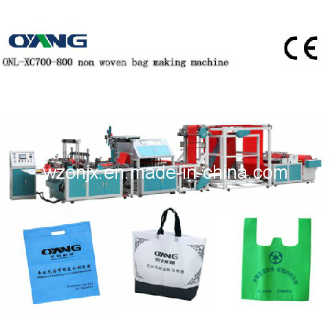 New Design of Automatic Non-Woven Fabric Shopping Bag Making Machine