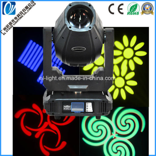 LED Beam Spot Wash 3in1 Moving Head Light with 300W LED Chip and Zooming (EL-NLBSW300W)