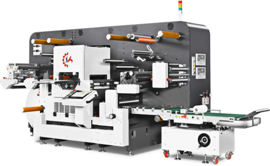 Van-360 Flatbed High Speed Die Cutting Machine