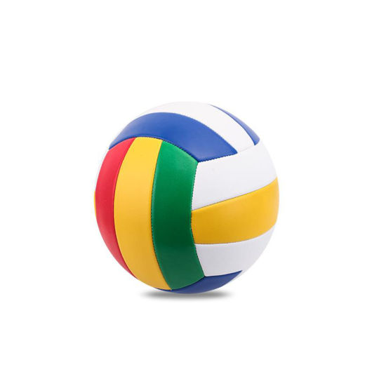 Professional Size5 PU Stitched Beach Volleyball for Competition