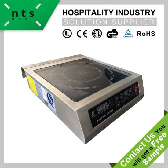 Stainless Steel Commercial Induction Cooker