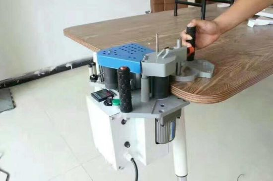 Portable Edge Bander for Wooden Product/ Mini Size Edge Banding Machine for Home Useage/ Manual Portable Edge Banding Machine pictures & photos