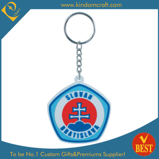 Factory Price Customized Rubber Soft PVC Key Chain with Brand Logo in High Quality