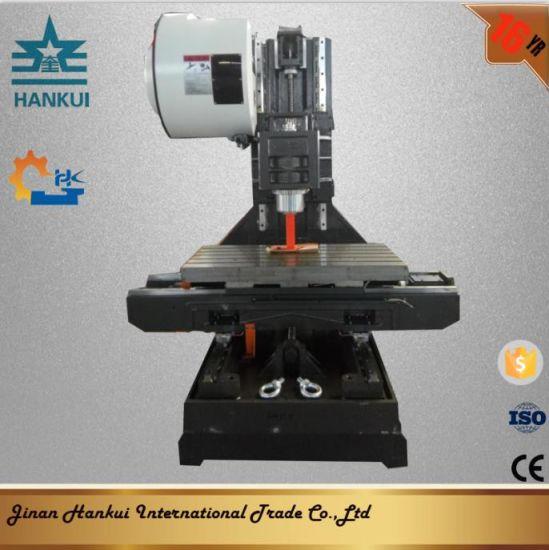 Vmc550L Mini CNC Machining Center Price List with 4th Axis