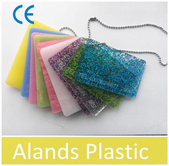 China Various Colors Glitter Acrylic Sheet 3-20mm - China Glitter ...