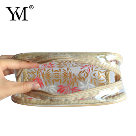 Wholesale Low Price Customized Print OEM Makeup Clear PVC Bag pictures & photos
