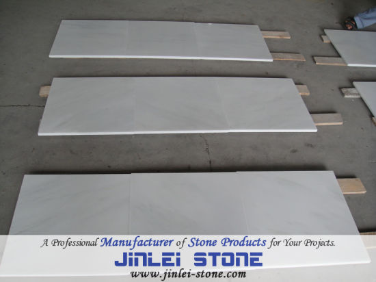 Natural Stone Guangxi White Marble for Floor Wall Tiles for Villa Hotel Bathroom
