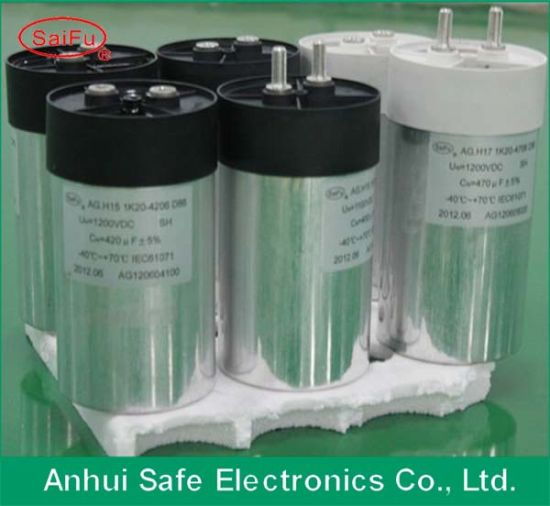 Stock DC Filter Capacitor Cylinder for Solar Power Wind Power pictures & photos