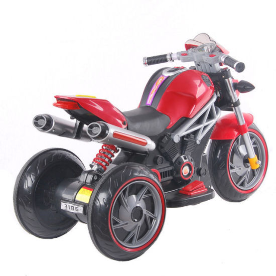 High Quality Best Price Plastic Toys Kids Electric Motorcycle pictures & photos