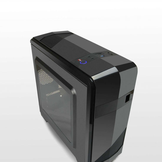 Customized New Design OEM Model ATX Computer Case with Acrylic Window