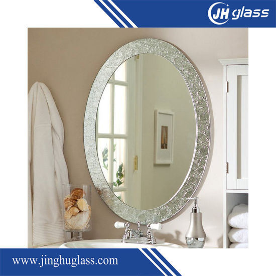 5mm Double Coated Green Backing Painting Aluminum Mirror for Bathroom Mirror pictures & photos