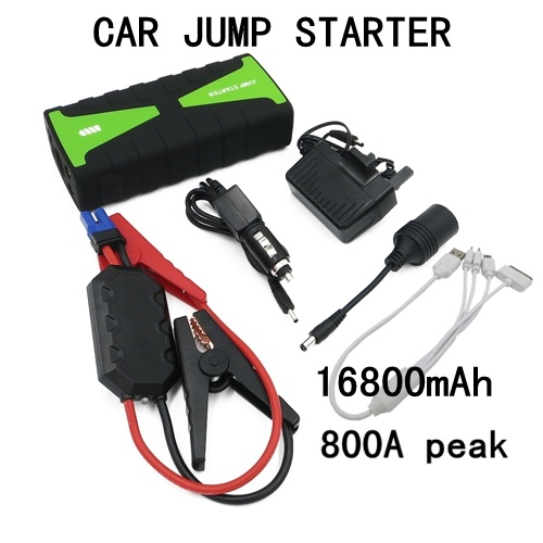 Portable Car Battery Jump Starter for Outdoor with LED Light pictures & photos