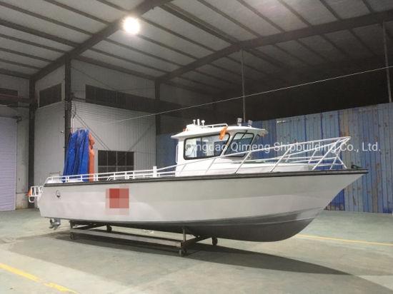 Inflatable Aqualand 32FT 9.8m 12persons Aluminium Speed Fishing /Rescue Patrol/Pilot Motor Boat