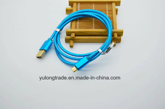 Data Cable/Colorful USB Data Charging Cable for iPhone Andriod