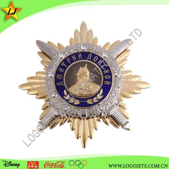 Custom Logo Wholesale Zinc Alloy Soft Enamel Sports Award Souvenir Metal Medal