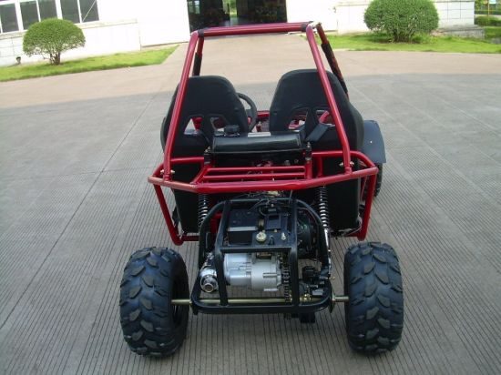 150cc Two Seats and Chain Drive Adult Racing Go Kart (KD 150GKM-2) pictures & photos