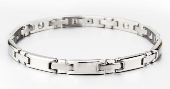 Fashion Jewelry Pure Titanium Health Care Magnetic Bracelet pictures & photos