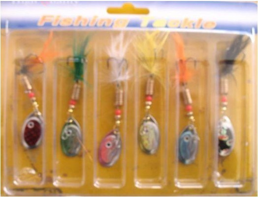 Hot Sell Fishing Tackle Fishing Spinner Bait 6PCS/Card Packing pictures & photos