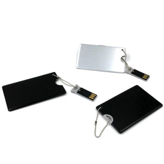 New Arrival Aluminum Credit Card USB Flash Drive