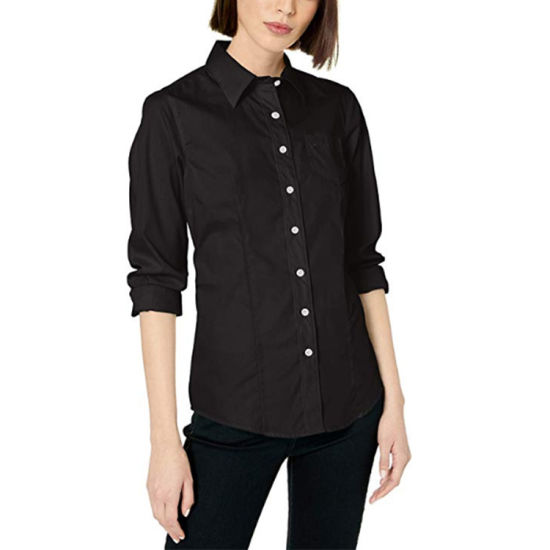 Uniform Shirts Formal Business Office Shirts for Women Ladies