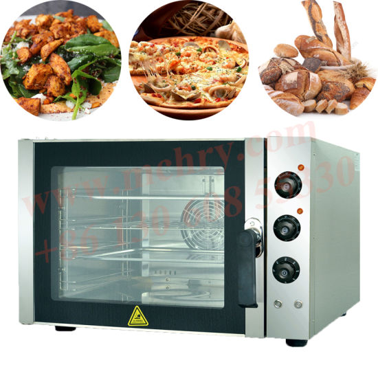 Snack City Use 4 Trays Hot Air Convection Oven with Top Fire