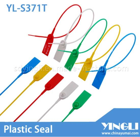 Pull Tight Plastic Security Seal with Metal Insert (YL-S371T) pictures & photos