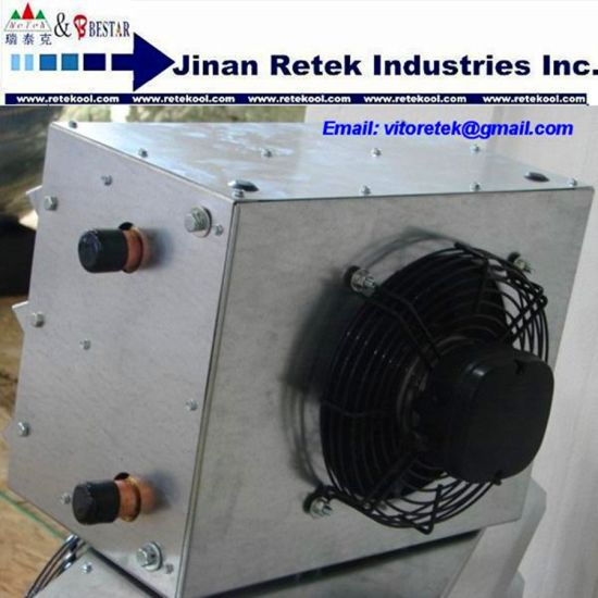 China 20*20 Hot Water to Air Heat Exchanger with Fan Hanging Unit ...