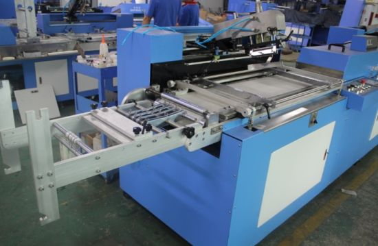 Satin Ribbon Automatic Screen Printing Machine for Sale pictures & photos