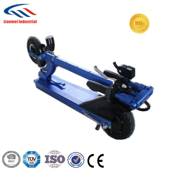 Hot Sales 350W Lithium Battery Folding E-Scooter pictures & photos