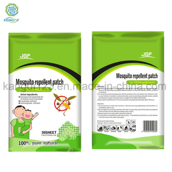 China Oem Anti Mosquito Repellent Patch For Baby China Mosquitto