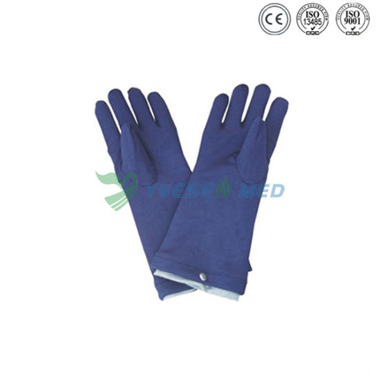 Ysx1521 Medical Hospital X-ray Room Radiation Protective Lead Gloves pictures & photos