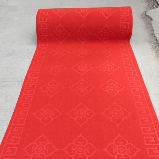 China Outdoor Red Carpet Exhibition Event Wedding Wed Aisle Roll