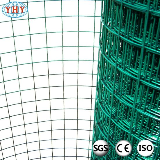 China Green Epoxy Coated Welded Wire Mesh - China Welded Mesh Roll ...