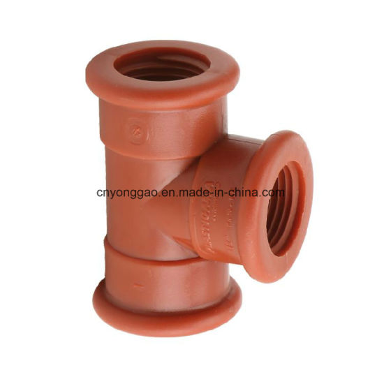 Pph Thread Pipe & Fittings Tee