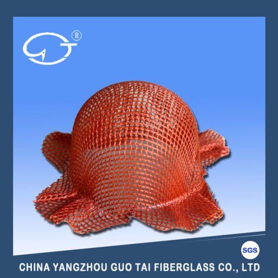 Hat Shape Molten Aluminum Water Fiberglass Filter Mesh
