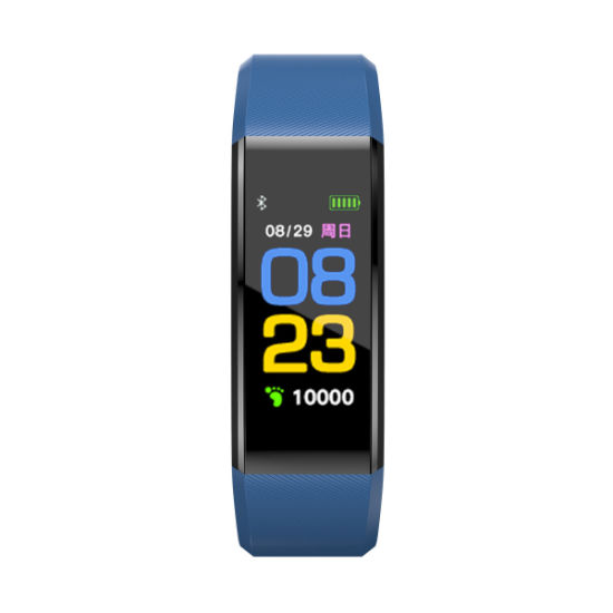 IP67 Heart Rate Color OLED Display Smart Bracelet Band Wristband Fitness Tracker 115plus Bt4.0 Smart Band