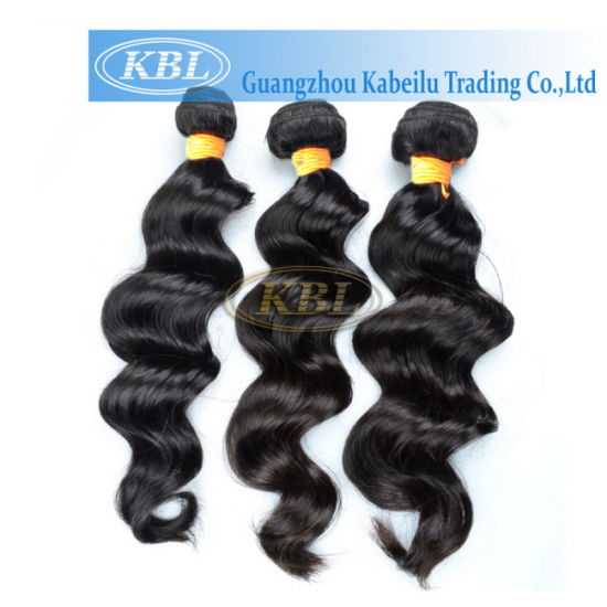 100% Indian Human Hair Grade 3A Extension pictures & photos