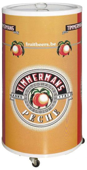 Commercial Refrigerator Fridge Round Display Bottle Beer Party Barrel Can Beverage Cooler (SC-75T)