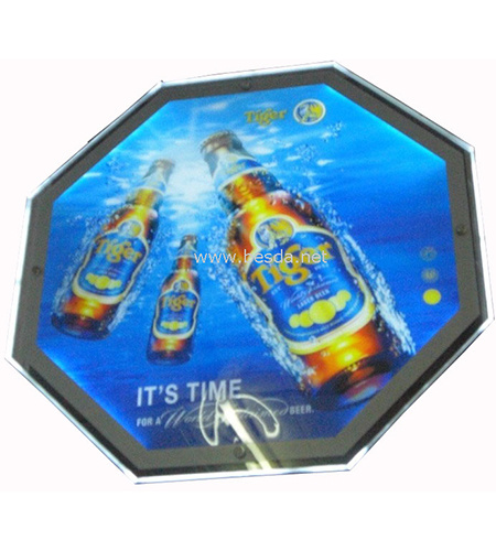 LED Crystal Display with Heart Shape LED Sign Digital Signage pictures & photos