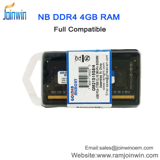 China Brand And Model Number Cpu 4gb Ddr4 Ram For Laptop Price