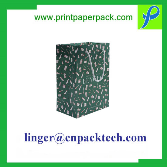High-End Custom Rectangle Shopping Apparel Gifts Paper Bag